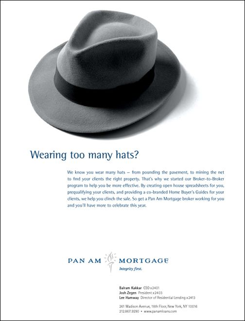 Pan Am Ad Hat