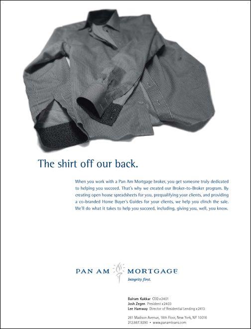 Pan Am Ad Shirt