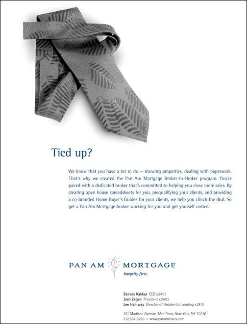 Pan Am Ad Tie